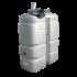 """Beiser Environnement - Station fuel double paroi PEHD sans odeur, 1000 litres, pompe 12V avec limiteur de remplissage 2"""" - Point de vue d'ensemble"""