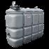 """Beiser Environnement - Station fuel double paroi PEHD sans odeur, 2000 litres, pompe 12V avec limiteur de remplissage 2"""" - Point de vue d'ensemble"""