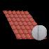 Beiser Environnement - Tôle tuile terra cotta, anticondensation, 8,4 m