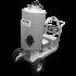 Beiser Environnement numéro 1 de la vente de citerne en Europe et spécialiste de l'équipement agricole - 05011200013 Chariot à lait 130 L inox avec distributeur 12 V débit 40 litres / minute - Vue de face
