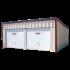 Beiser Environnement - Garage double 1 pan en kit