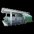 Beiser Environnement - Niche collective 8/10 veaux polyester 4 étoiles avec caillebotis PVC, parc et abri sur roue - Vue de profil
