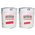 BEISER-EPOXIDANSTRICH, Untergrund Stahl, Zink, verzinkter Grund und Aluminium, hellgrau, Rotbraun, 1,2 kg Eimer