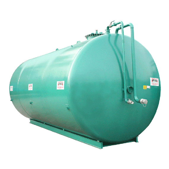Stickstoffanlage Doppelwandig aus Stahl NN, 50 000 L Ø 3000 ohne Pumpe