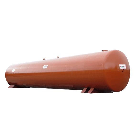 Neuer Stahltank für Löschwasserreserve 60000 Liter, Ø3000 mm