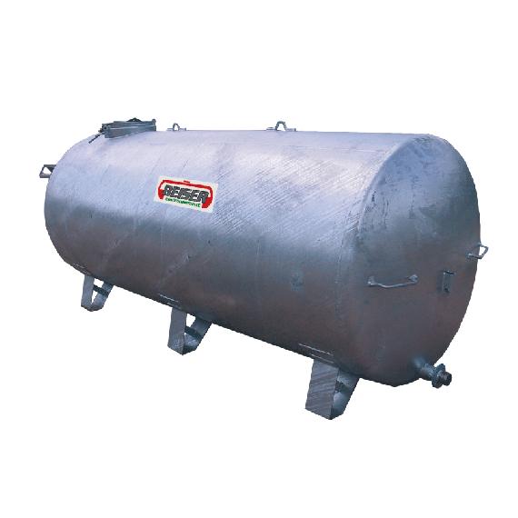 Verzinkter Tank auf Füßen 1500 L