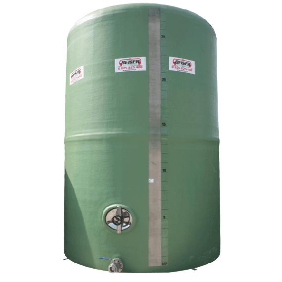 Senkrechter Polyestertank 20000 Liter
