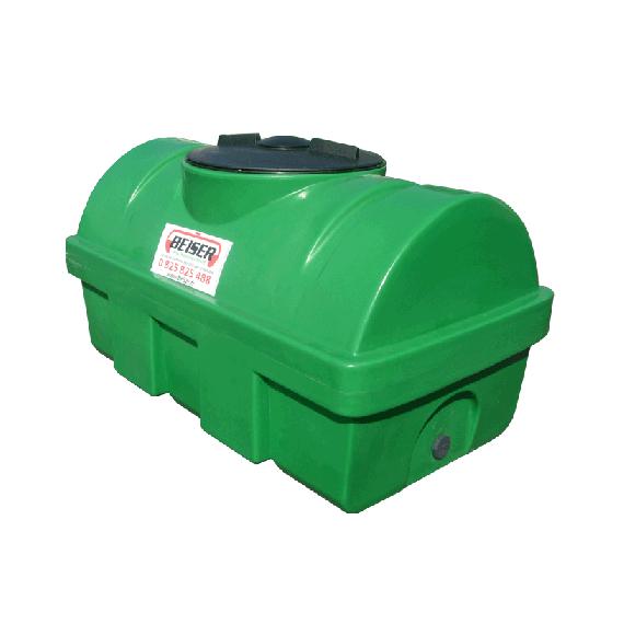 Grüner PEHD-Tank 500 l, Dichte 1300 kg/m3 (EP)