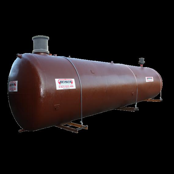 Wasserbehälter mit einfacher Wand zum Eingraben 40.000 Liter mit Pumpe