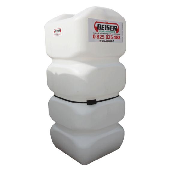 Verstärkter weißer PEHD-Tank für Treib-/Brennstoff 750 Liter