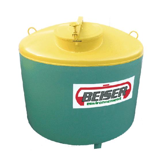 Lagertank für Altöl aus STAHL, 1500 Liter