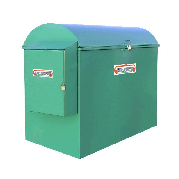 Platzsparende industrielle 2000 Liter-Tankanlage