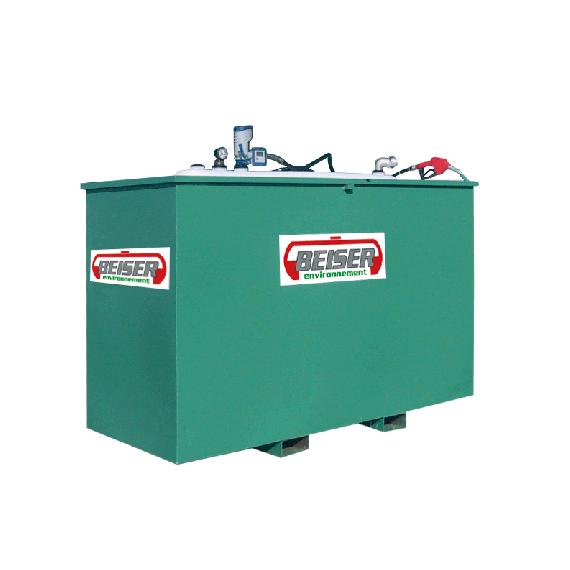Platzsparende 5000 Liter-Tankanlage SECURIT