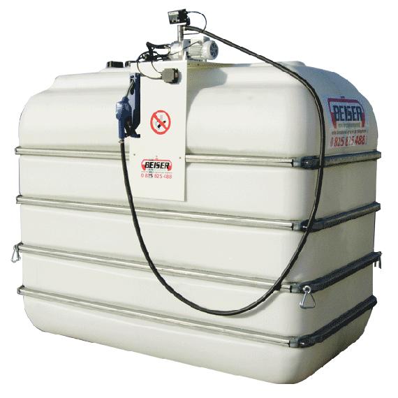 Indoor B-Blue Tankanlage, 5000 L