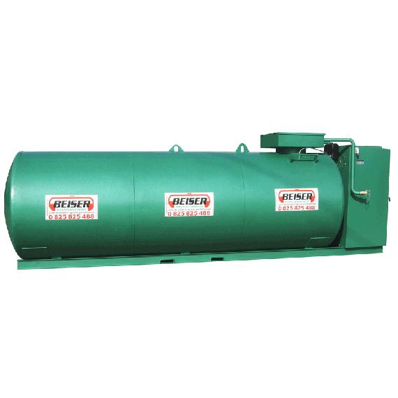 Doppelwandige 25000 L Diesel-Tankanlage aus Stahl, Neuste Norm 2. Generation