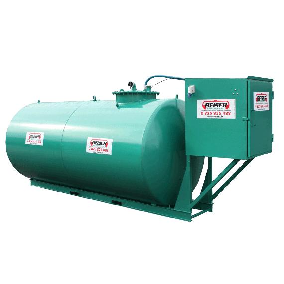 Wirtschaftlich doppelwandige 8000 L Diesel-Tankanlage aus Stahl, Neuste Norm 2. Generation