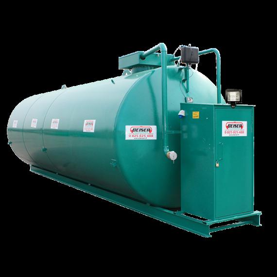 Doppelwandige 30000 L Diesel-Tankanlage aus Stahl, Neuste Norm 2. Generation
