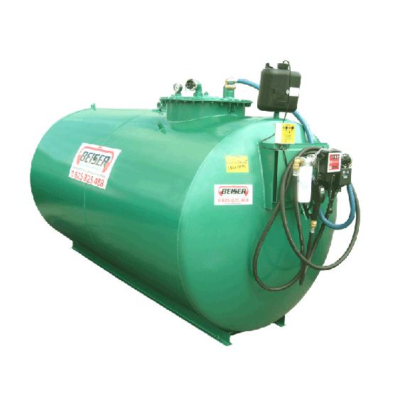 Neue doppelwandige Diesel- Tankanlage 3000 L mit Pumpe 60 L/min Top Angebot