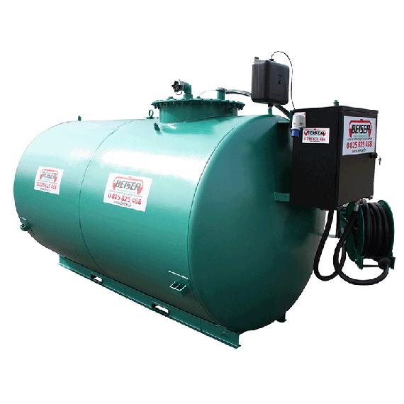 Neue doppelwandige und gesicherte 1500 L Diesel- Tankanlage mit Pumpe 72 L/min Top Angebot