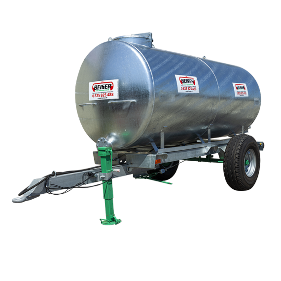 Verzinkter Tank Auf Rädern 1500 liter