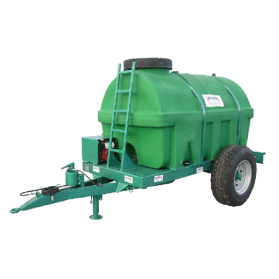 Verstärkter PEHD-Tank auf Gestell, 7500 L, EP