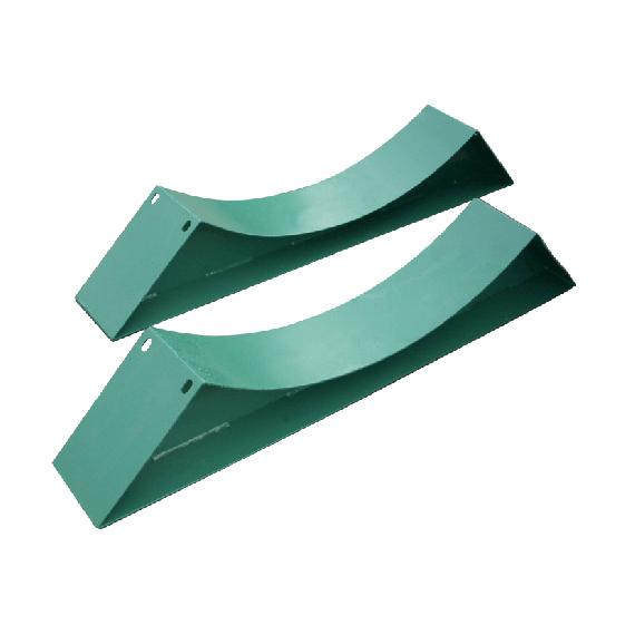 Sattelfüße für Tank aus Metall, Ø 1250mm