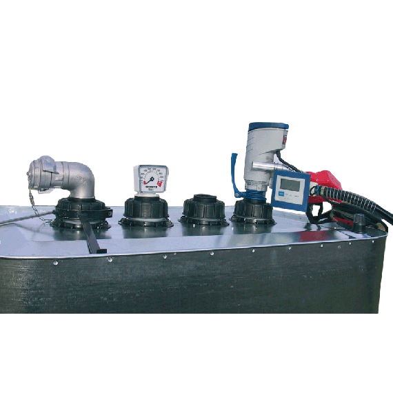 Entleerungsgarnitur VET-Tank mit 12V-Pumpe
