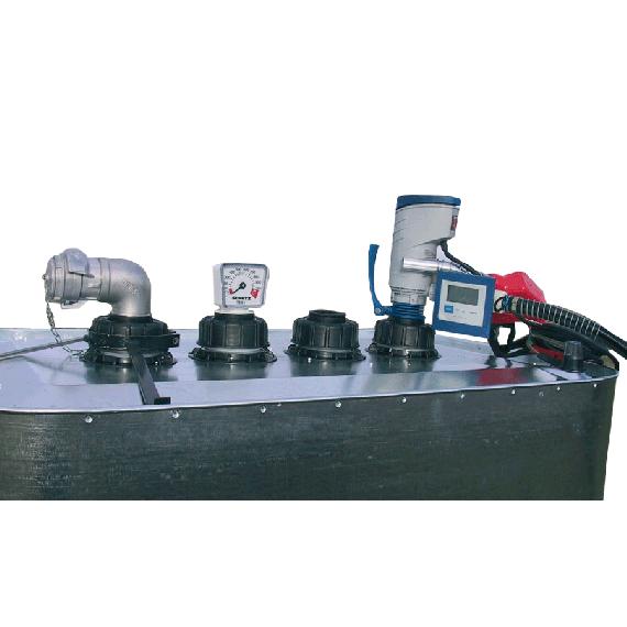 Entleerungsgarnitur Tank VET 700 und 1000 l mit 220V-Pumpe