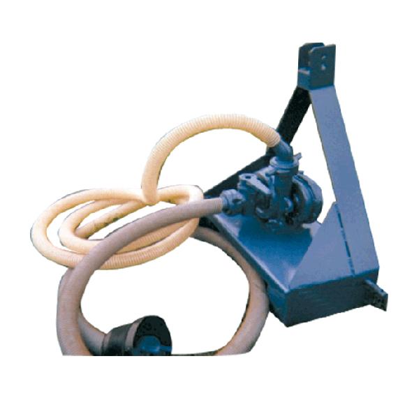 Wasser-Zapfwellenpumpe mit Dreipunktkupplung und Schlauch, 25 m3/h