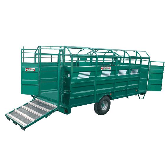 Vollstahl-Viehtransporter SCHWERES Modell, Länge 7,50 m; keine Option