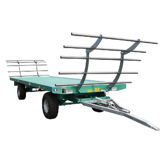 Plattformanhänger 7m - 8 T mit Drehschemel