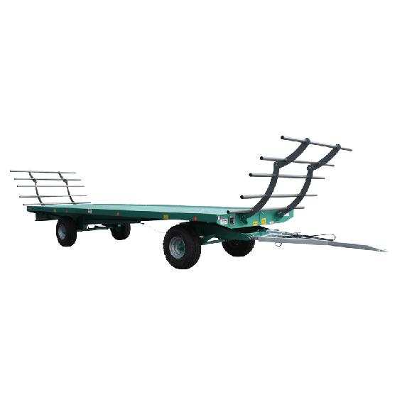 Plattformanhänger 8m - 10 T mit Drehschemel