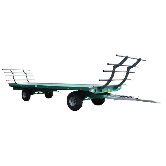 Plattformanhänger 9m - 10 T850 mit Drehschemel