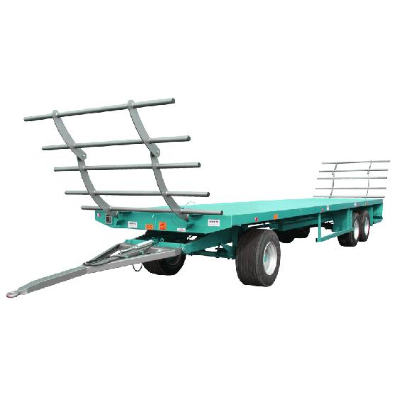 Plattformanhänger 10m - 19 T mit Drehschemel