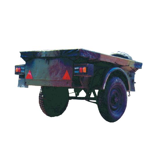 Plane für Jeep-Anhänger (Benutzt)