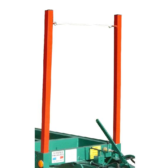Rungen für Forstanhänger (4 Stück)
