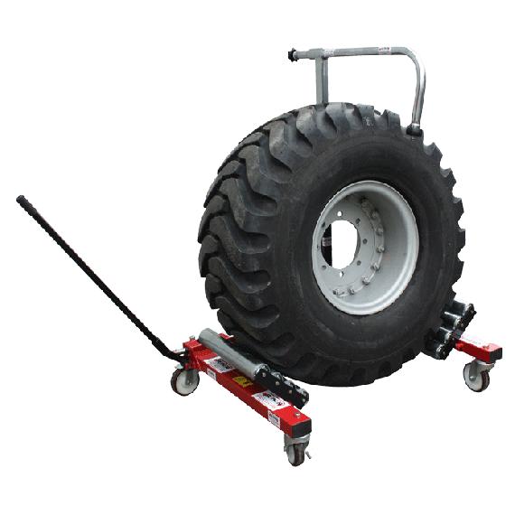 Transportgestell für Traktor Räder