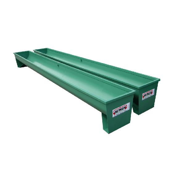 Metall-Futtertrog auf Füßen 4 m, Ø 1000 mm