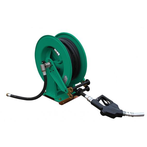 """Diesel Haspel mit 10 M Schlauch 1"""" für Pumpe 60 L/Min oder 100 L/Min auf drehbaren Standfuß"""