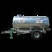 Beiser Environnement - Citerne galvanisée sur châssis galvanisé 1500 litres