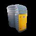 Beiser Environnement - Vertikale Ölstation PEHD doppelwandig 10000 L mit Tauchpumpe