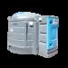 Station verticale double paroi PEHD B-blue 5000 litres - Vue d'ensemble